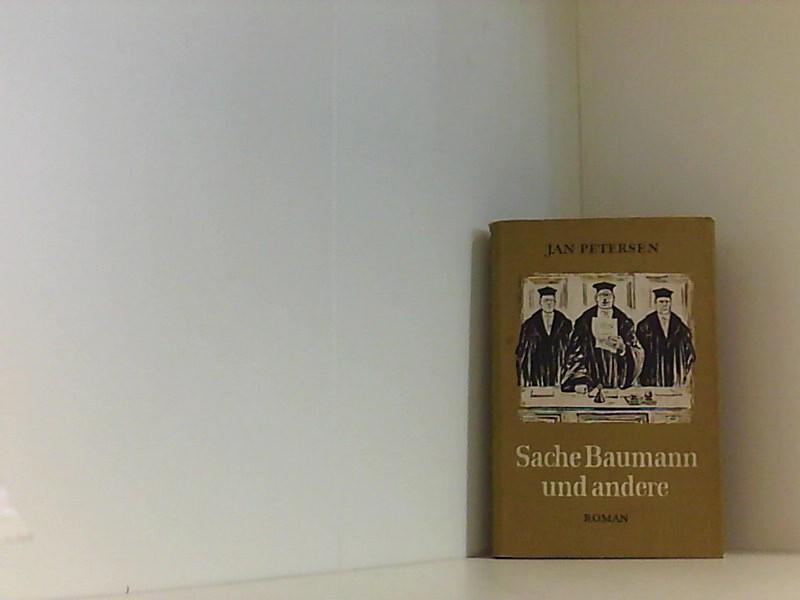 Sache Baumann und andere - Petersen, Jan