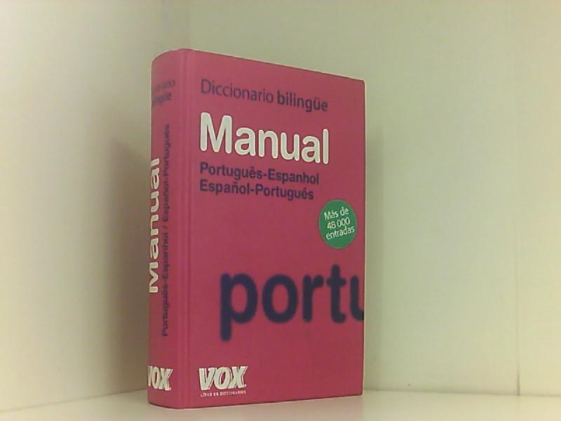 Diccionario manual português-espanhol, español-portugués (Vox - Lengua Portuguesa - Diccionarios Generales)  edición - Vox