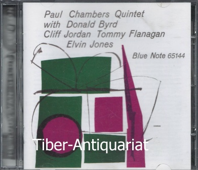 Paul Chambers Quintet with Donald Byrd, Cliff Jordan Tommy Flanagan, Elvin Jones. Blue Note 65144. RVG Edition.
