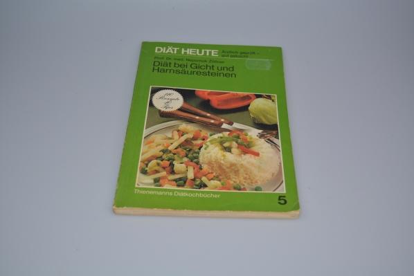 Diät bei Gicht und Harnsäuresteinen. Einf. von Nepomuk Zöllner. Rezeptteil von Brigitte Zöllner / Diät heute ; Bd. 5 [19. Aufl.]