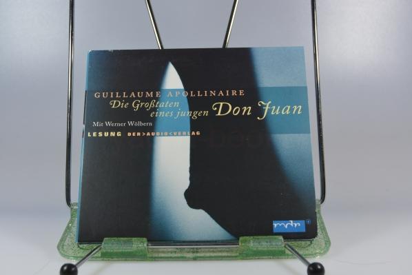 Die Großtaten eines jungen Don Juan : Lesung ; Produktion Mitteldeutscher Rundfunk. mdr.. Mit Werner Wölbern. Regie Walter Niklaus