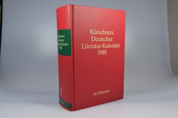 Kürschners Deutscher Literatur-Kalender 1988
