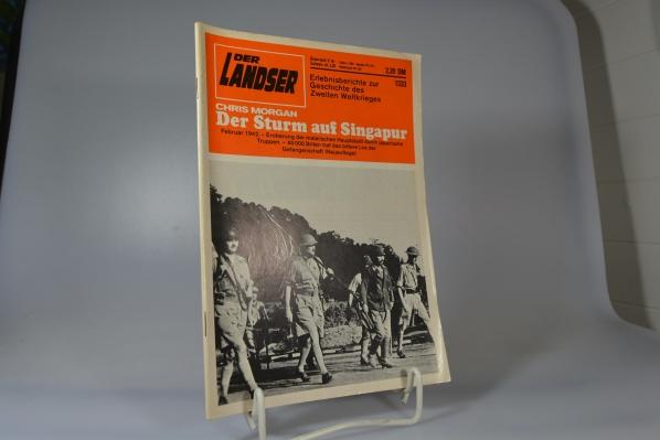 Der Landser - Nr. 1333 - Der Sturm auf Singapur