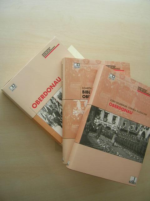 Oberdonau. 2 Bände im Schuber. Oberdonau + Bibliografie Oberdonau.