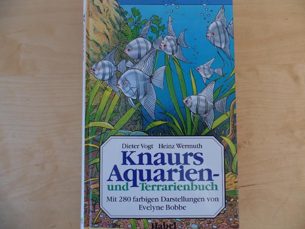 Knaurs Aquarien- und Terrarienbuch.