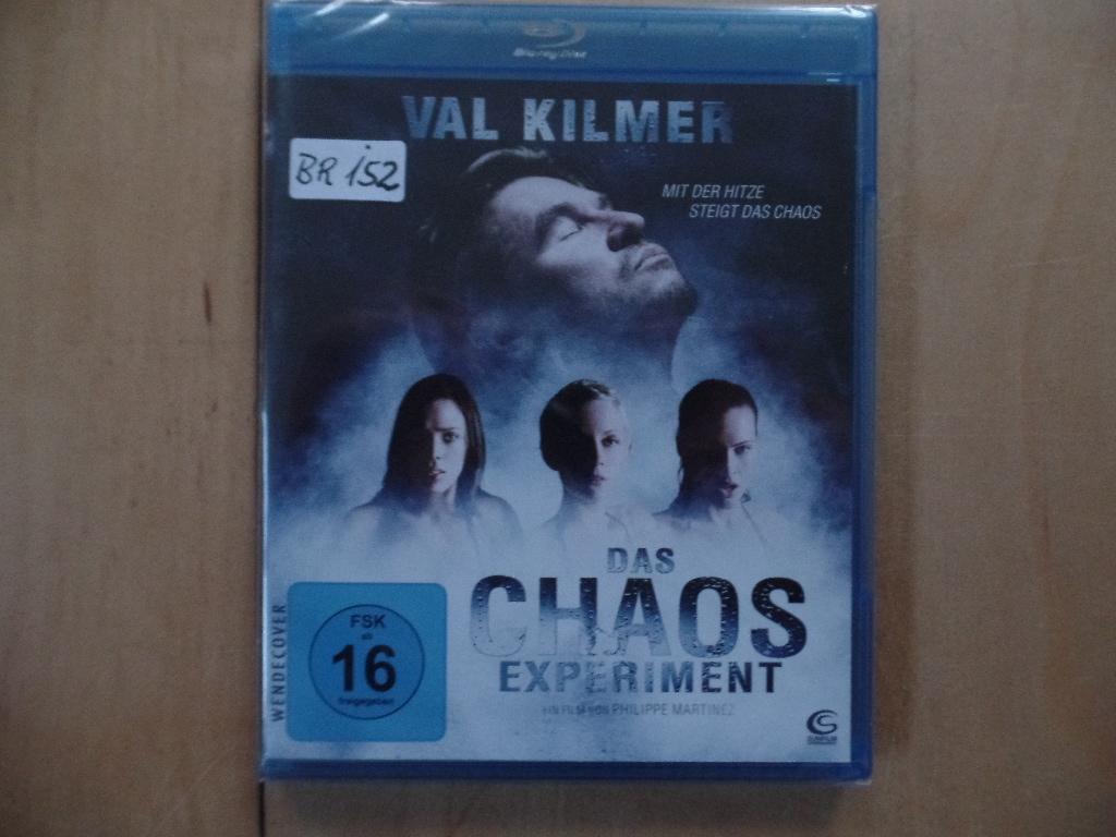 Das Chaos Experiment [Blu-ray] Auflage: Standard Version