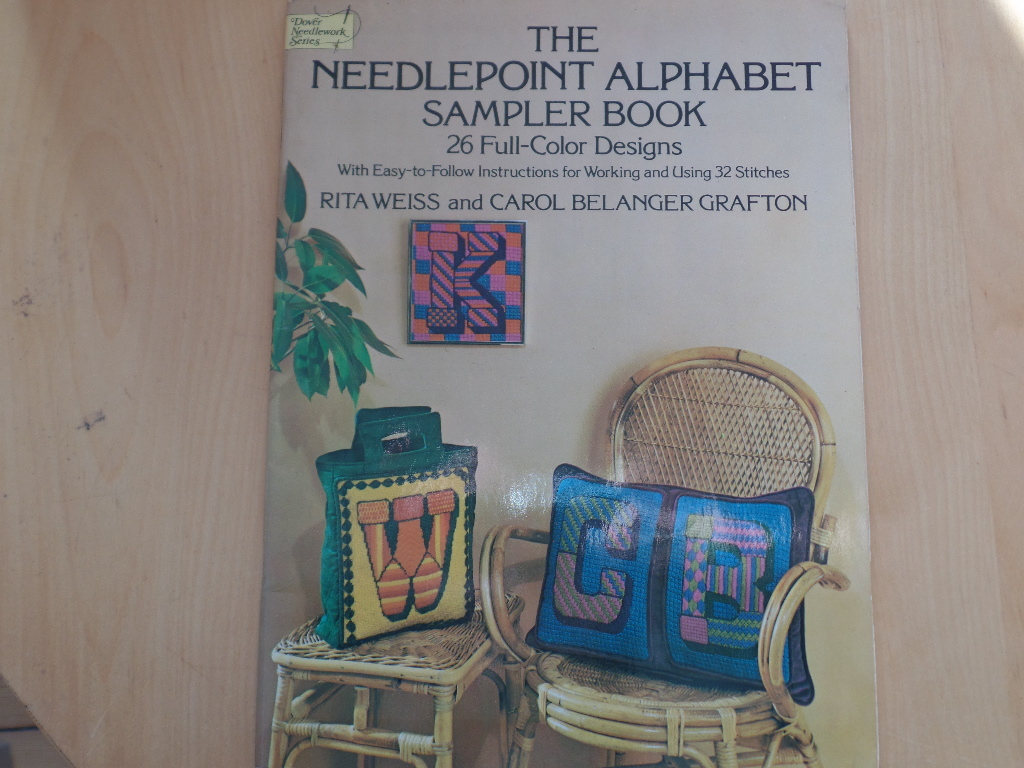 The Needlepoint Alphabet Sampler Book: 26 Full-Color Designs With Easy-To-Follow Instructions for Working and Using 32 Stitches