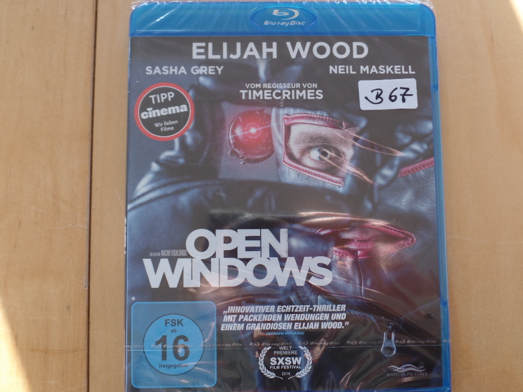 Open Windows [Blu-ray]