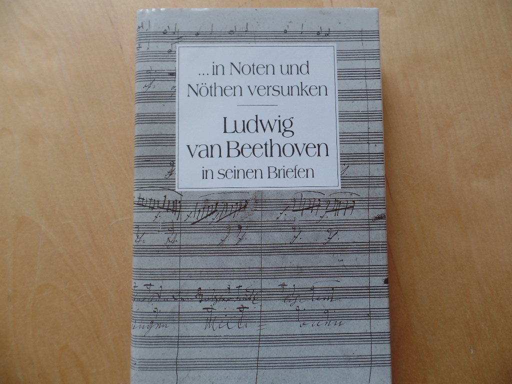 Ludwig van Beethoven in seinen Briefen : eine Auswahl ; ... in Noten und Nöthen versunken. 6. Aufl.