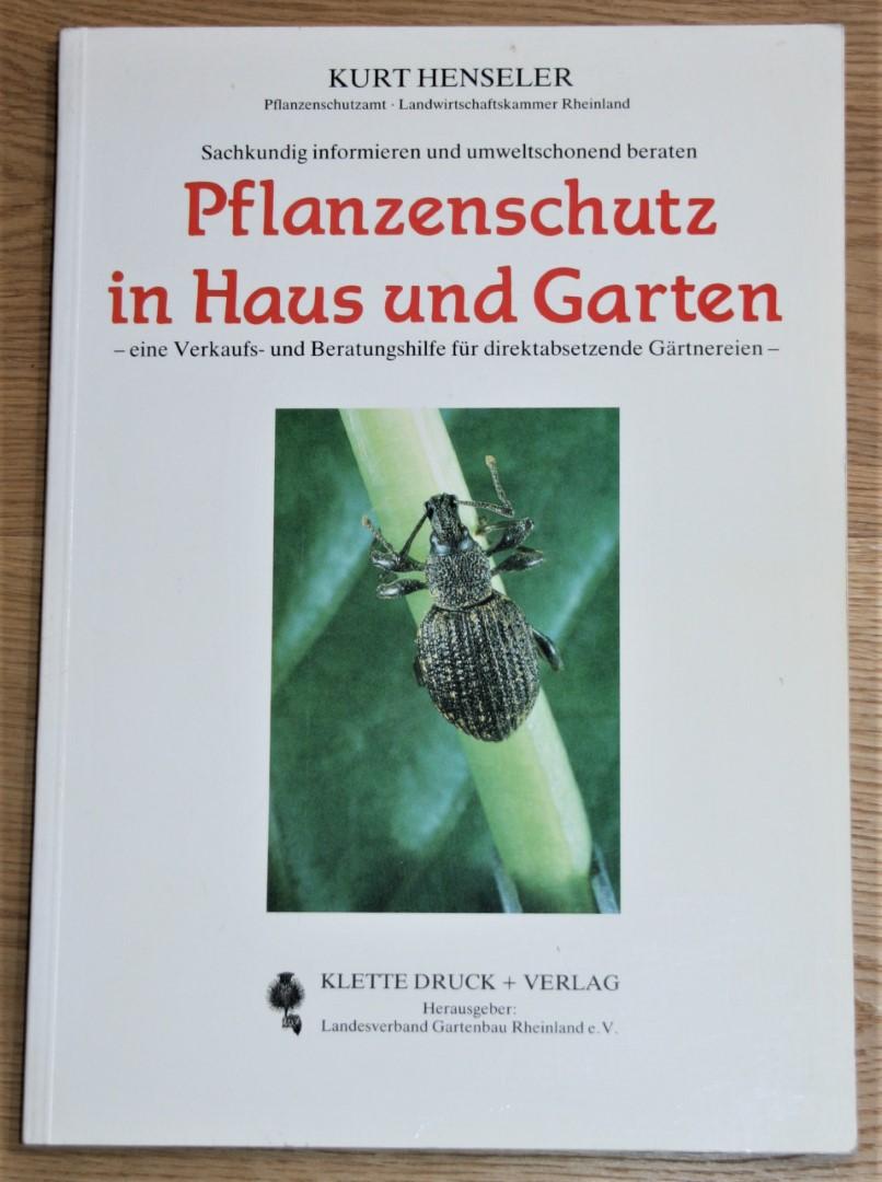 Pflanzenschutz in Haus und Garten - Eine Verkaufs- und Beratungshilfe für direktabsetzende Gärtnereien.