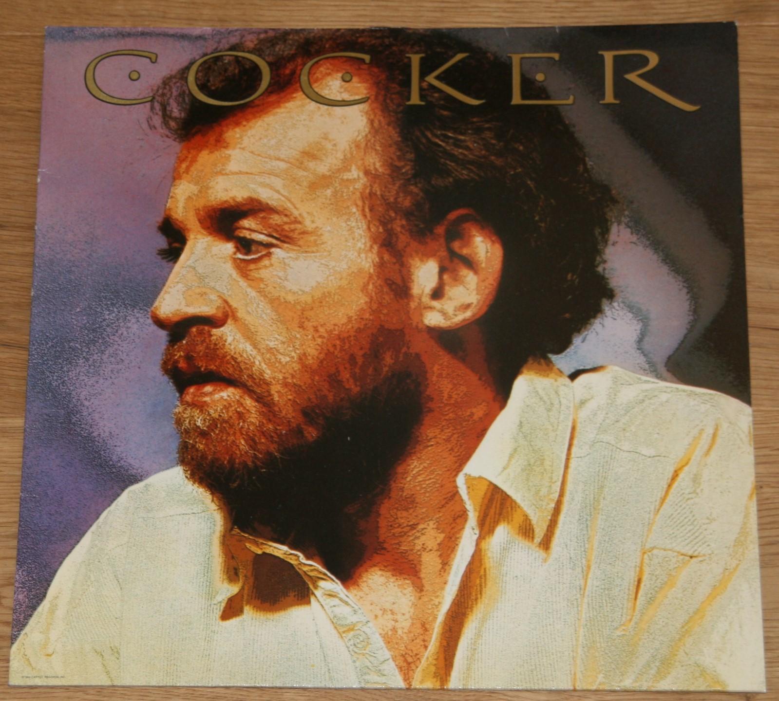 1 LP Schallplatte Vinyl: COCKER.