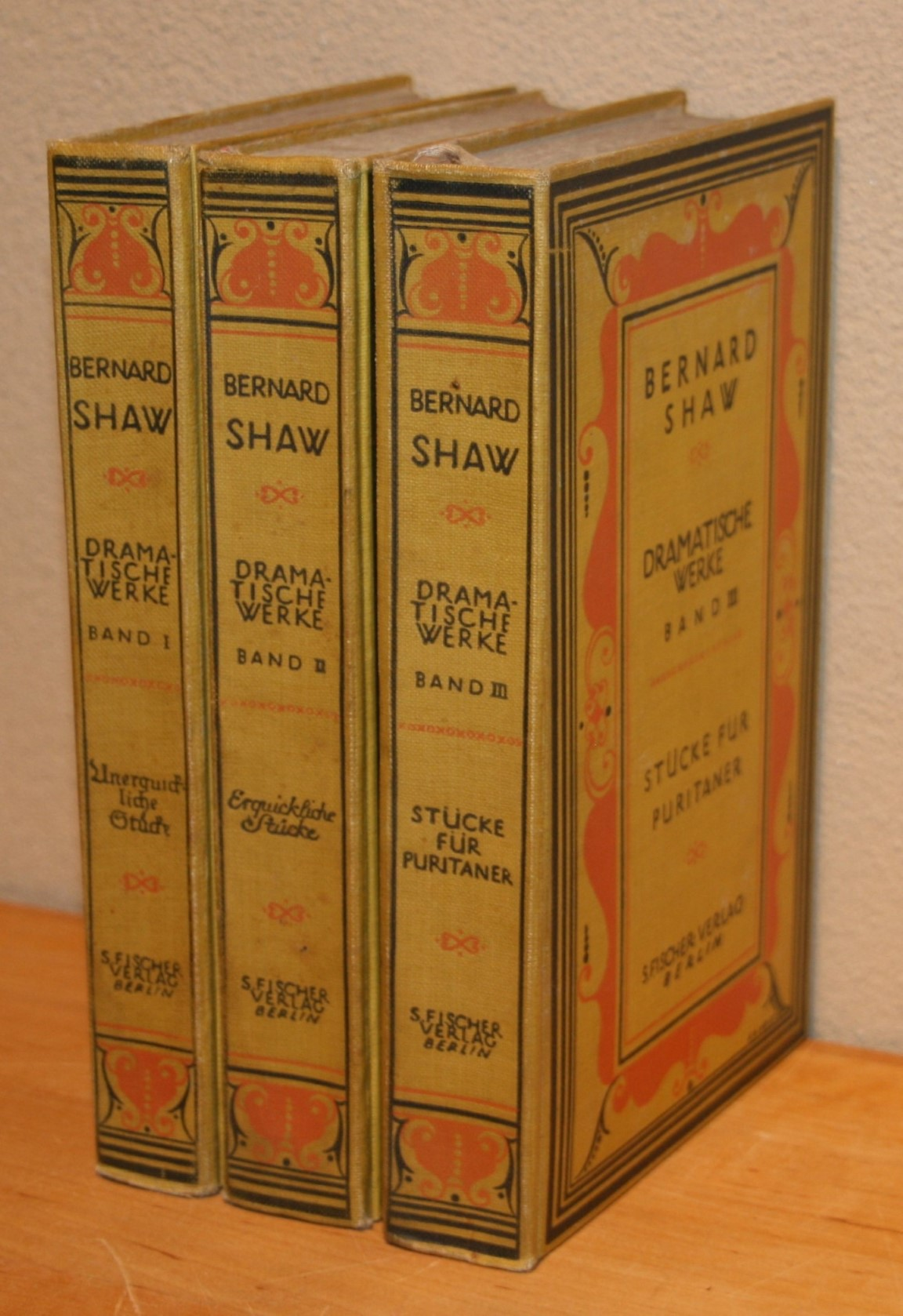 Dramatische Werke. Auswahl in drei Bänden. Band 1: Unerquickliche Stücke. Band 2: Erquickliche Stücke. Band 3: Stücke für Puritaner.
