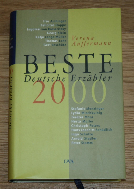 Beste deutsche Erzähler 2000.
