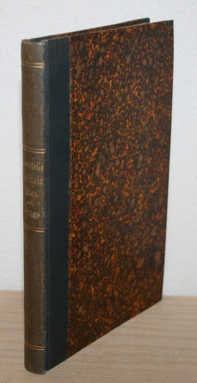 Blass, Fridericus (Iterum Edidit): Aristotelis. Politeia Athenaion.