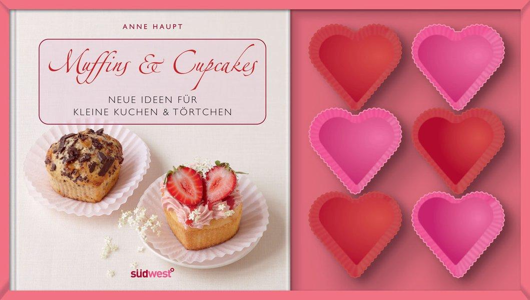 Muffins & Cupcakes-Set: Neue Ideen für kleine Kuchen & Törtchen. Buch mit Silikonförmchen - Haupt, Anne