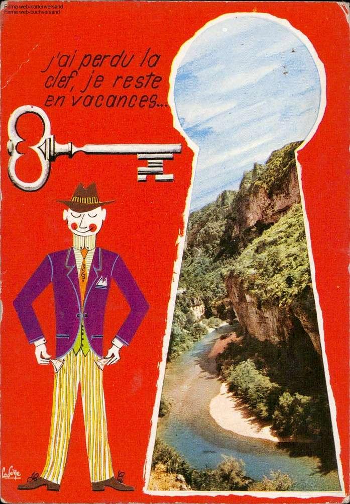 Rodez - J'ai perdu la clef, je reste en vacances Mehrbildkarte
