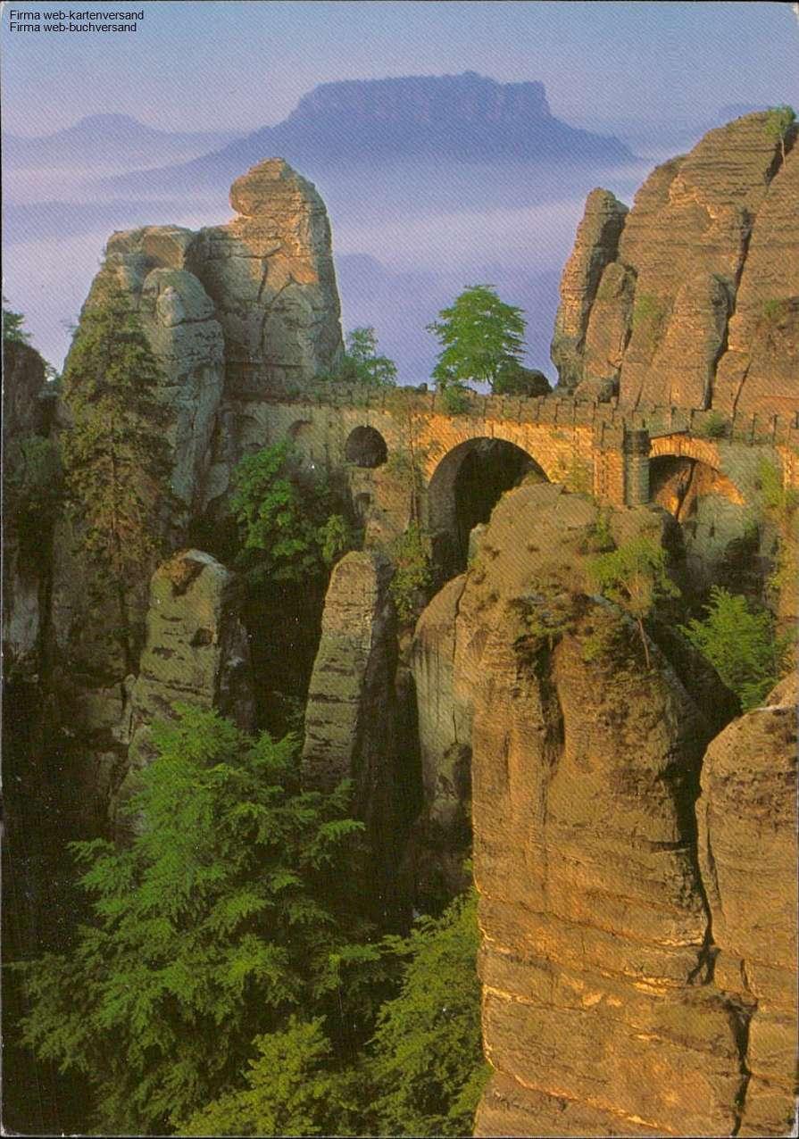 1064581 - Schönes Elbsandsteingebirge Basteibrücke , Lilienstein