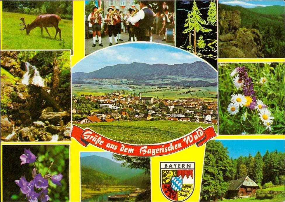 1082097 - Eindrücke aus dem Bayrischen Wald Mehrbildkarte