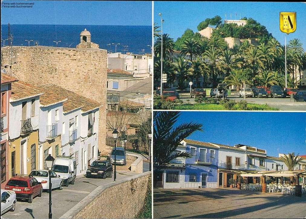 1091851 - Denia - Costa Blanca Mehrbildkarte