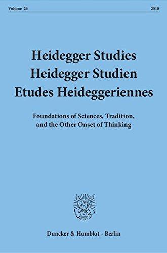 Heidegger Studies / Heidegger Studien / Etudes Heideggeriennes.: Vol. 26 (2010). Foundations of Sciences, Tradition, and the Other Onset of Thinking.  Auflage: 1 - Emad, Parvis, Friedrich-Wilhelm von Herrmann and Paola-Ludovika Coriando