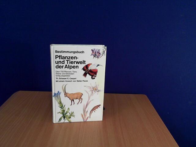 Bestimmungsbuch Pflanzen- und Tierwelt der Alpen