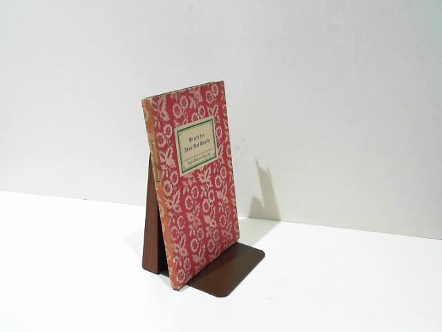 Briefe der Frau Rat Goethe.(= Insel-Bücherei Nr.544]),