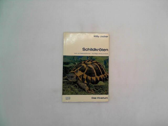 Schildkröten : Land- u. Wasserschildkröten, ihre Pflege, Haltung u. Zucht. 2. Auflage, 7. - 12. Tausend