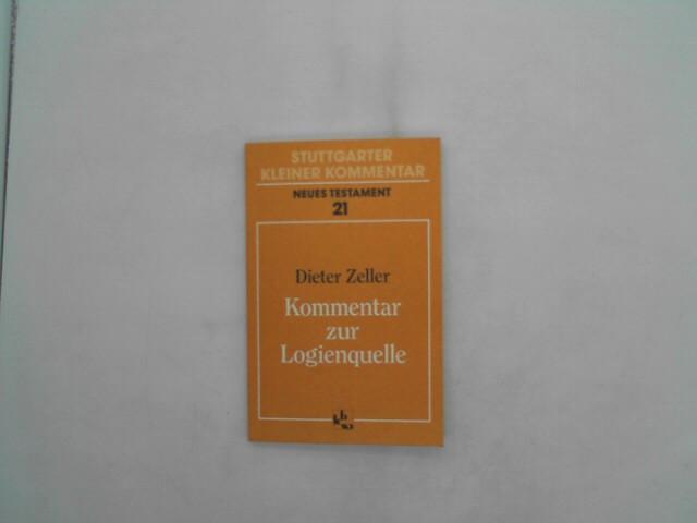 Stuttgarter Kleiner Kommentar, Neues Testament, 21 Bde. in 22 Tl.-Bdn., Bd.21, Kommentar zur Logienquelle Auflage: 2.,