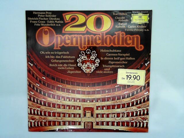 20 Opernmelodien [Vinyl LP] [Schallplatte] - Deutsche Grammophon 2563649