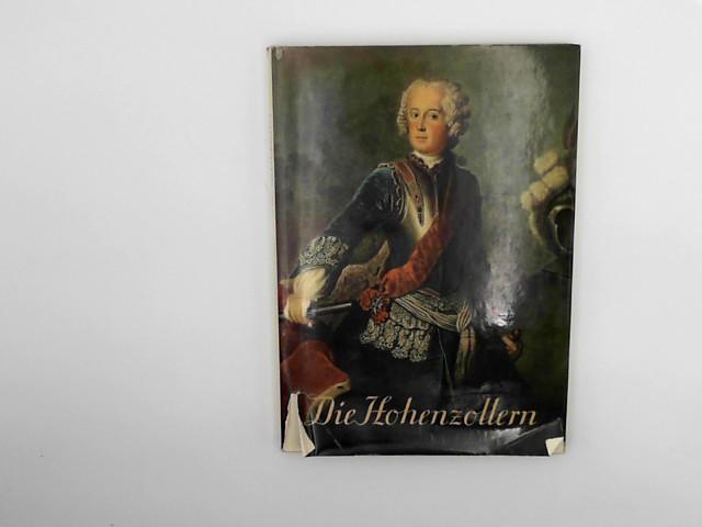 Ritthaler, Anton: Die Hohenzollern Auflage: 1st ed.