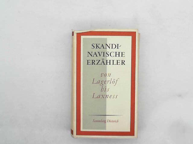 Skandinavische Erzähler - von Lagerlöf bis Laxness. Auflage: 1