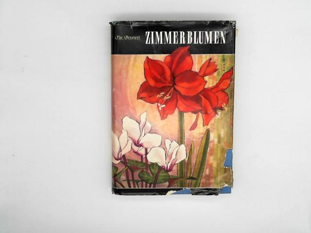 Zimmerblumen 1960 Pflege Pflanzen Düngen Umpflanzen Schädlinge Krankheiten ...