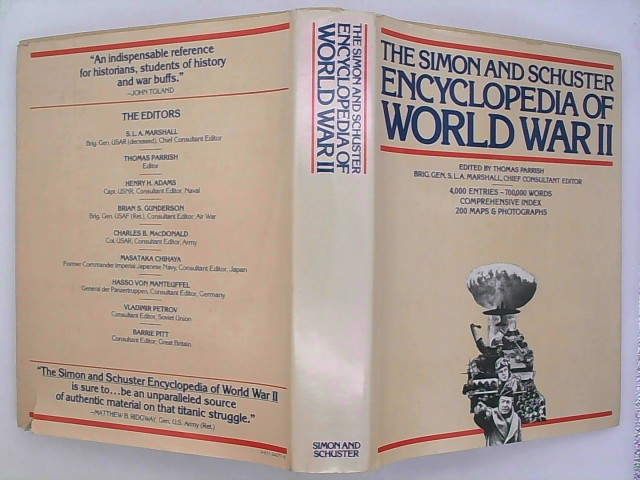 Parrish, Thomas: The Simon and Schuster Encyclopedia of World War II 1. Auflage