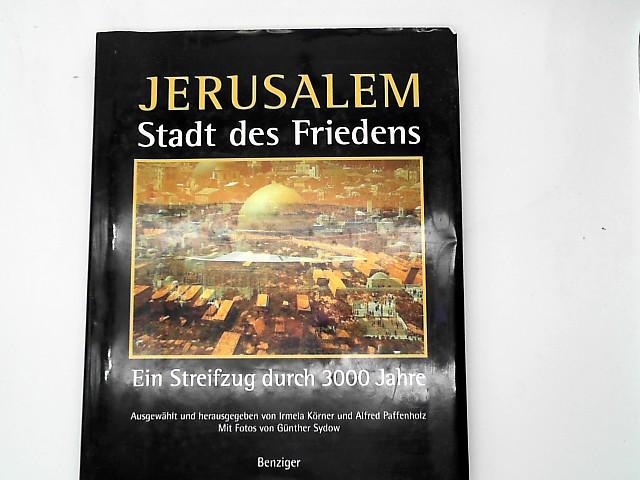 Jerusalem, Stadt des Friedens Auflage: Erstauflage, EA
