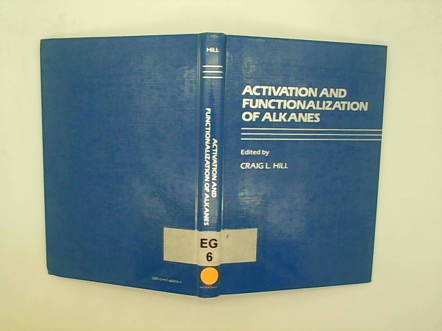 Activation and Functionalization of Alkanes