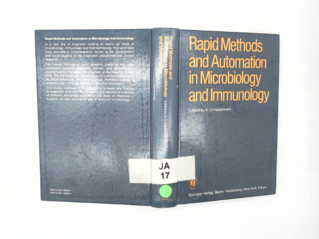 Rapid methods and automation in microbiology and immunology; Teil: 4., Berlin, June 7 - 10, 1984