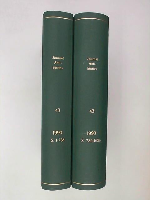 Various: The Journal of Antibiotics - Volume 43, 1 & 2, 1990