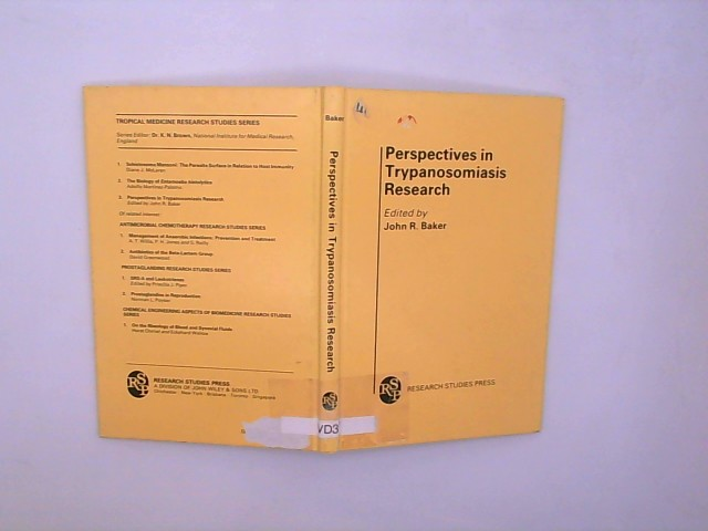 Perspectives in Trypanosomiasis Research: Seminar Proceedings (Tropical Medicine Research Studies)