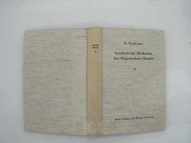 Theilheimer, W: Synthetic Methods of Organic Chemistry: Yearbook 1966 Repititorium No 4. Mit deutschem Registerschlüssel.