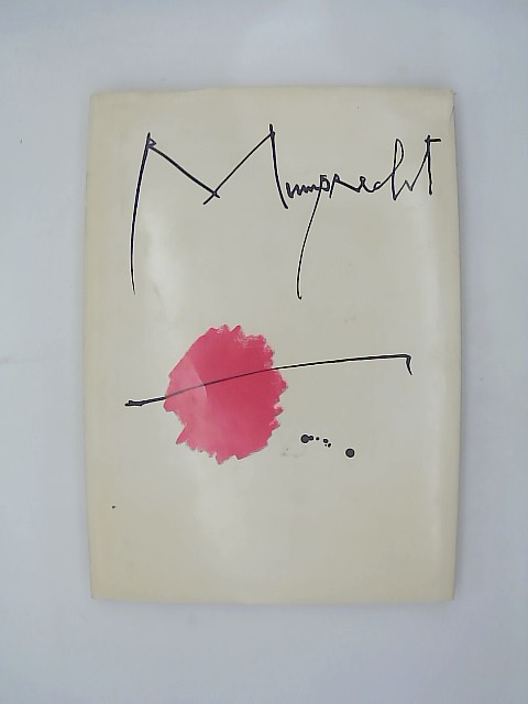 Mumprecht. Leouvre gravé sur cuivre. 1944 - 1980. geb. Original-Leinenband, farbig ill. OU.
