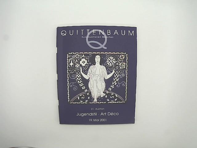 Quittenbaum Kunstauktionen München (Hrsg.): Jugendstil - Art Deco. 21. Auktion 19. Mai 2001 (Auktionskatalog)