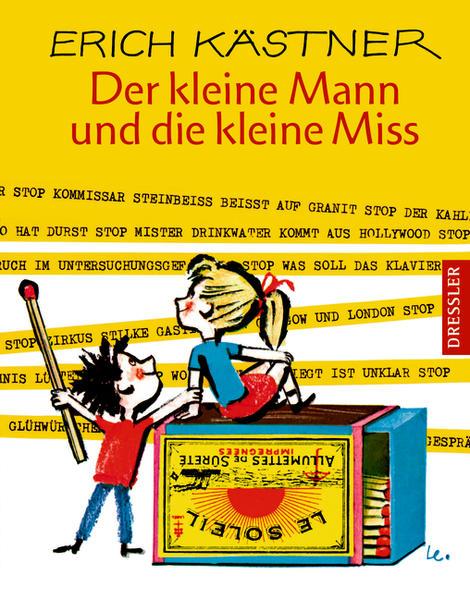 Der kleine Mann und die kleine Miss  Auflage: 11 - Kästner, Erich und Horst Lemke