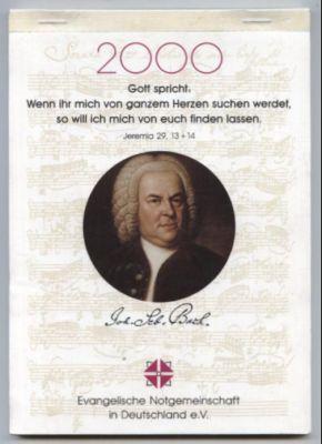 Wochenkalender 2000.