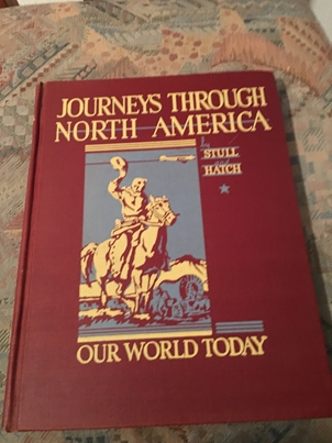Journeys through North America. Our World today.
