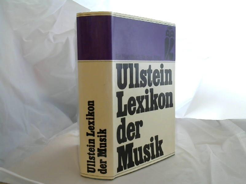 Herzfeld, Friedrich: Ullstein-Lexikon der Musik : mit 4500 Stichwörtern. von 6. Aufl. Neubearb.