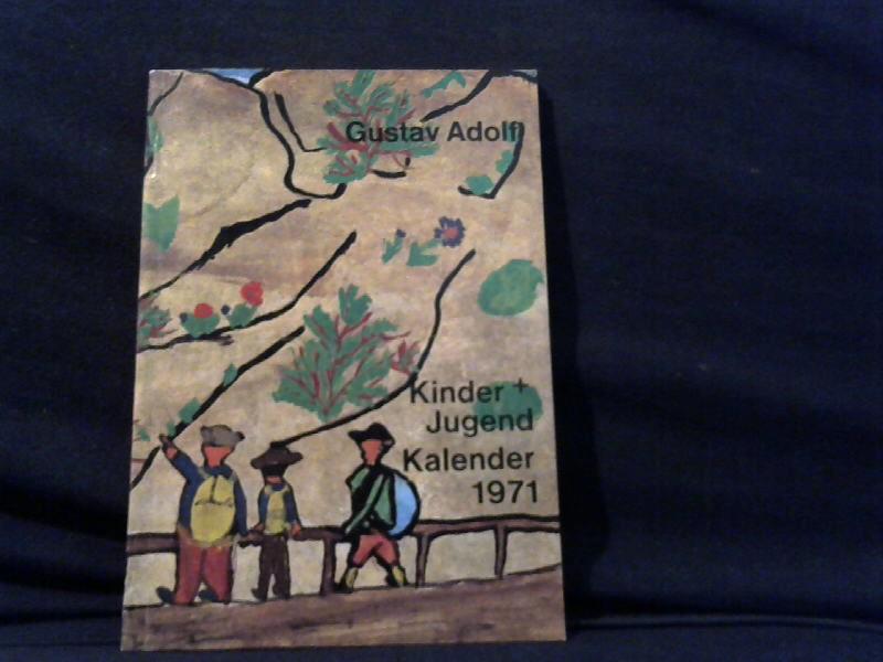 Kinder+Jugend Kalender 1971