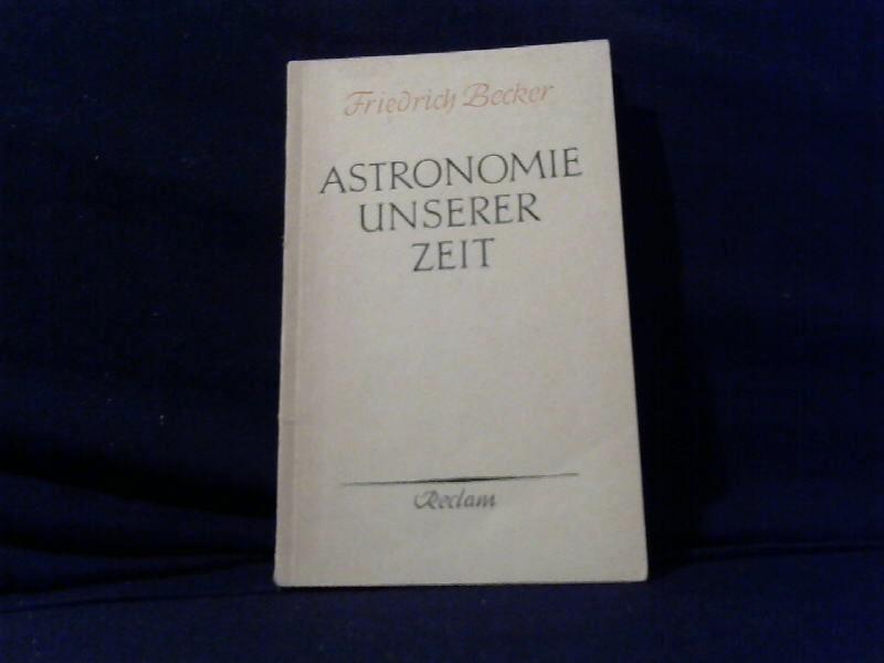 Astronomie unserer Zeit.