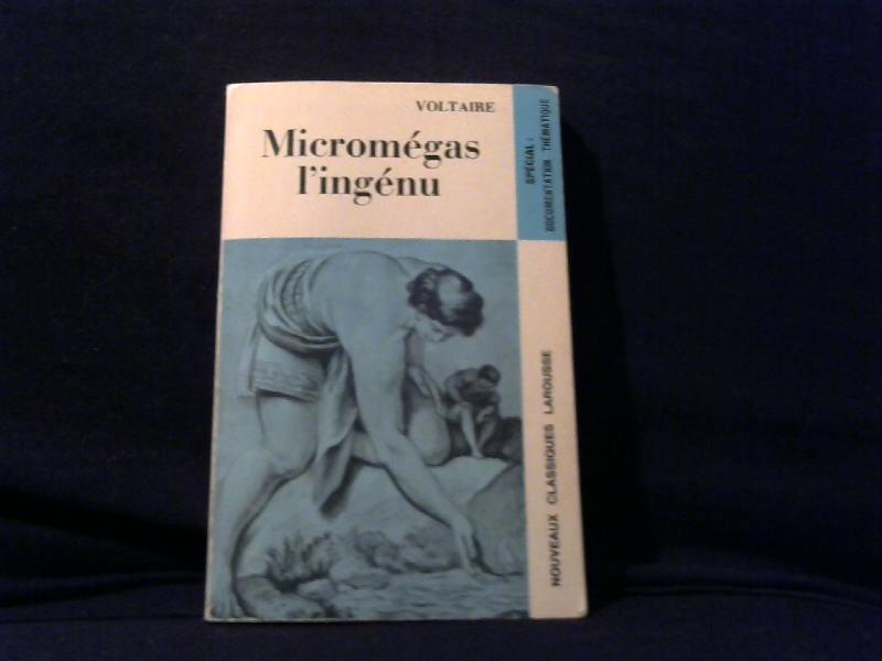 Voltaire: Micromégas língénu.
