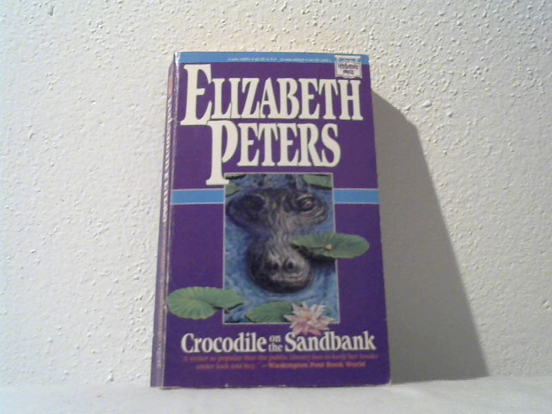 Crocodile on the sandbank.
