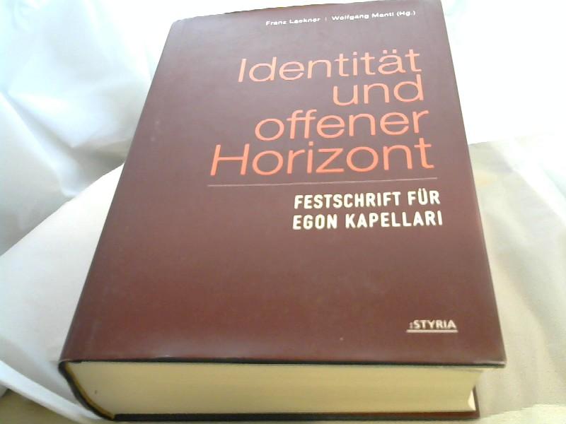 Lackner, Franz und Wolfgang Mandl: Identität und offener Horizont Festschrift für Egon Kapellari 1., Aufl.